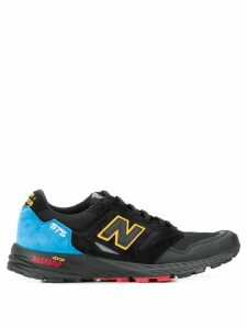 New Balance printed detail sneakers - Black