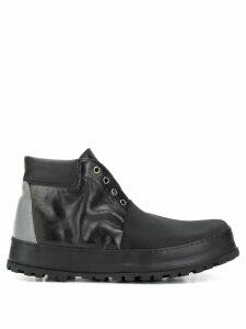 Premiata laceless ankle boots - Black