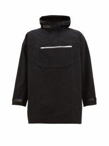 Calvin Klein Performance - Hooded Technical Windbreaker Jacket - Mens - Black