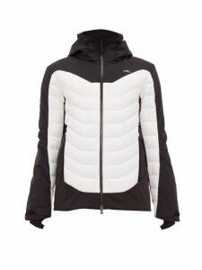 Kjus - Sight Line Down Filled Ski Jacket - Mens - Black Multi
