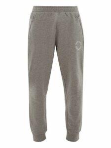 Calvin Klein Performance - Logo Roundel Cotton Track Pants - Mens - Grey