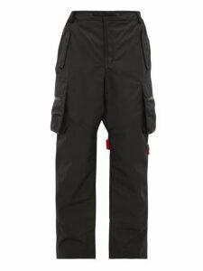 Raf Simons X Templa - Logo Strap Technical Ski Trousers - Mens - Black