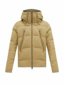 Descente Allterrain - Mountaineer Hooded Down-filled Jacket - Mens - Khaki