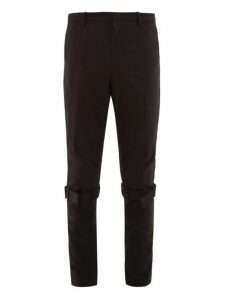 Paul Smith - Knee Strap Technical Nylon Trousers - Mens - Black