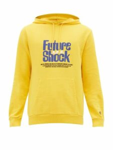 A.p.c. - X Brain Dead Spacy Cotton Hooded Sweatshirt - Mens - Yellow
