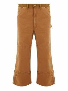 Junya Watanabe - X Carhartt Cotton Canvas Work Trousers - Mens - Brown