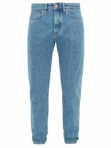 King & Tuckfield - Aubrey Selvedge Denim Slim Leg Jeans - Mens - Blue