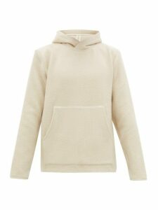 Séfr - Danko Ribbed Knit Hooded Sweatshirt - Mens - White