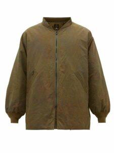 Needles - Tie Dye Bomber Jacket - Mens - Green