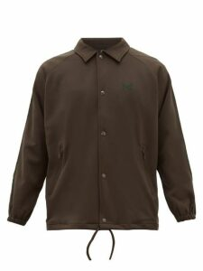 Needles - Logo Embroidered Track Jacket - Mens - Brown