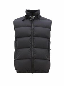 1017 Alyx 9sm - Rollercoaster Buckle Quilted Down Gilet - Mens - Black