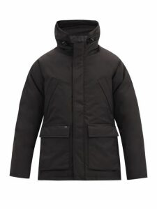 Nobis - Heritage Hooded Down Filled Parka - Mens - Black