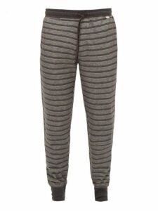 Paul Smith - Striped Cotton Pyjama Trousers - Mens - Grey Multi