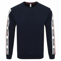 Moschino Logo Sweatshirt Navy