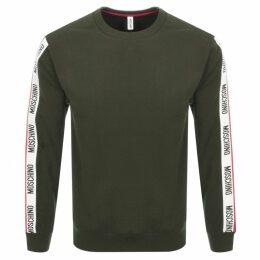 Moschino Logo Sweatshirt Green