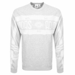 adidas Originals Real Scarf Sweatshirt Grey