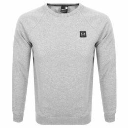 Under Armour Rival Crew Neck Sweatshirt Grey