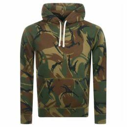 Ralph Lauren Pullover Camouflage Hoodie Green