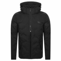 Superdry Echo Quilted Puffer Jacket Black
