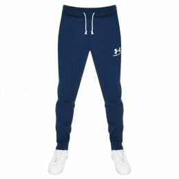 Under Armour Terry Jogging Bottoms Navy