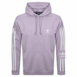 adidas Originals Lock Up Logo Hoodie Lilac