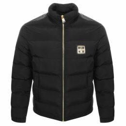 Love Moschino Logo Jacket Black