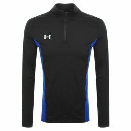 Under Armour Fitted Half Zip Sweatshirt Black