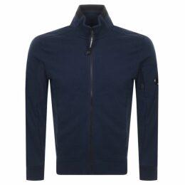 CP Company Full Zip Sweatshirt Navy