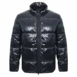Barbour International Act Quilt Jacket Black