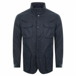 Barbour Ogston Wax Jacket Navy