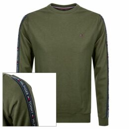 Tommy Hilfiger Taped Sweatshirt Green