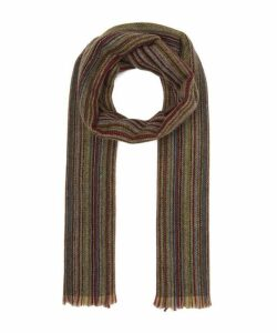 Multi-Stripe Herringbone Scarf