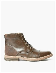 M&S Collection Lace-up Casual Boots