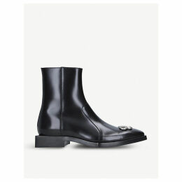 Rim BB leather ankle boots