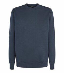 Navy Crew Neck Sweatshirt New Look