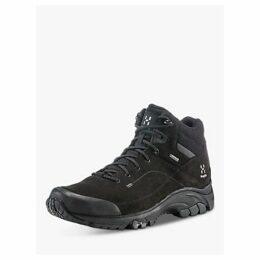 Haglöfs Ridge Mid Men's Waterproof Gore-Tex Walking Boots, True Black