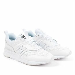 997H Trainer in White Leather