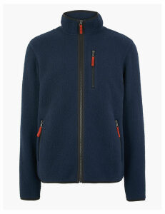 M&S Collection Sherpa Fleece Jacket