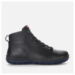 Camper Men's Peu Waterproof Suede Lace Up Boots - Black - UK 7