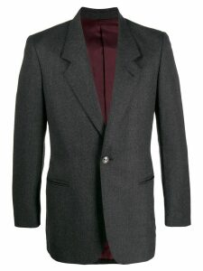 Jean Paul Gaultier Pre-Owned 1990s slim-fit notched jacket - Grey