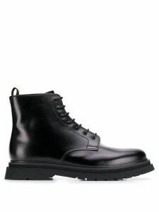 Prada lace-up boots - Black