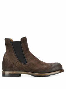 Silvano Sassetti elasticated side panel boots - Brown