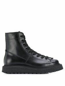 Neil Barrett lace up boots - Black