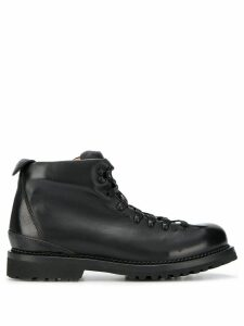 Buttero Canalone lace-up boots - Black