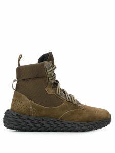 Giuseppe Zanotti Urchin boots - Green