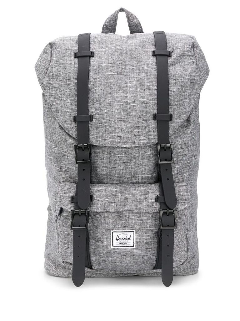 Herschel Supply Co. Little America logo patch backpack - Grey