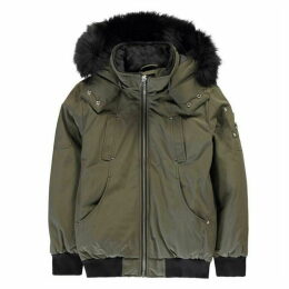 Moose Knuckles Moose Hooded Bomber Jn00