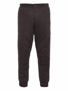 Mammut Delta X - The In Quilted Shell Trousers - Mens - Black