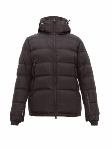 Moncler Grenoble - Isorno Logo-print Quilted-down Ski Jacket - Mens - Black