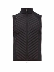 Bogner - Quilted Panel Down Gilet - Mens - Black